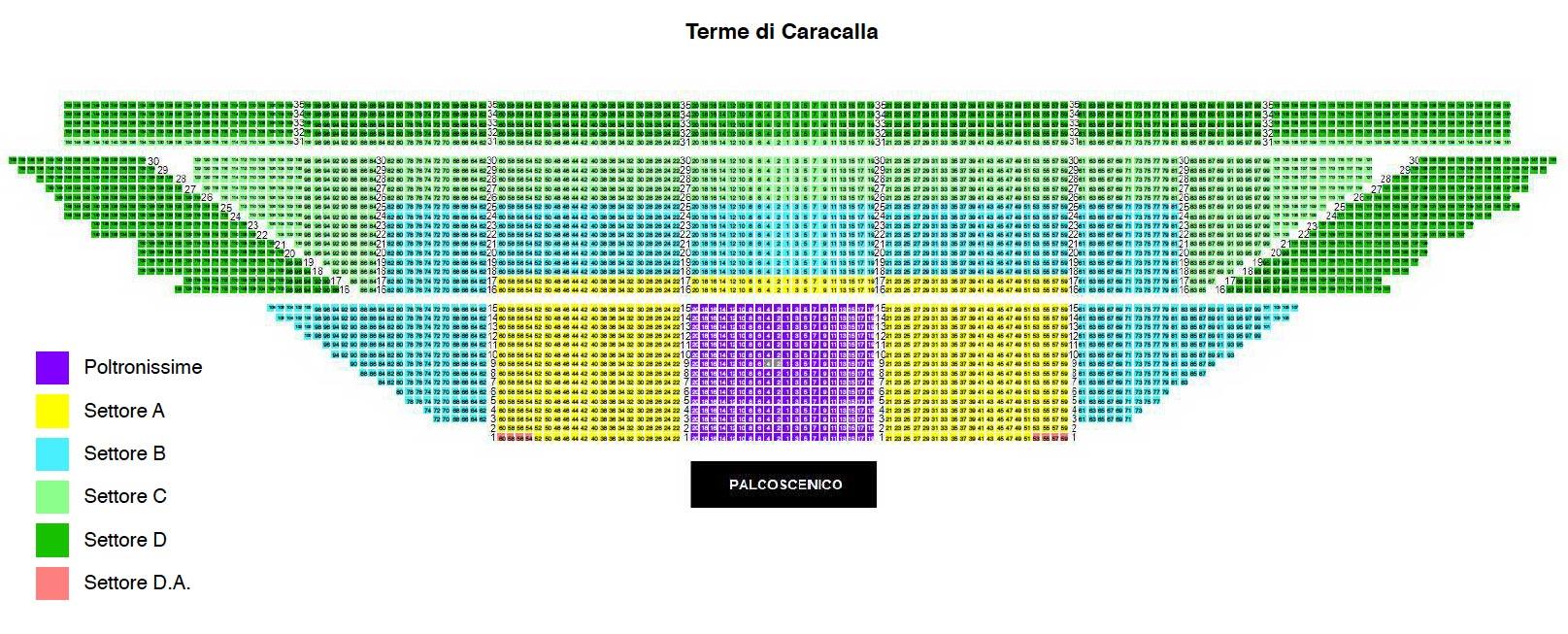 カラカラ浴場座席表